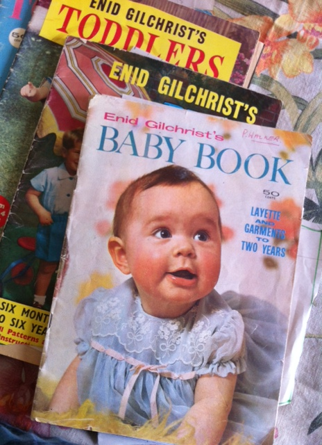 Enid Gilchrist... so many Australian women dressed their kids in her designs! The pattern books provide instructions on pattern drafting.