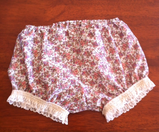 1940s style bloomers- made form a vintage pattern in my collection.