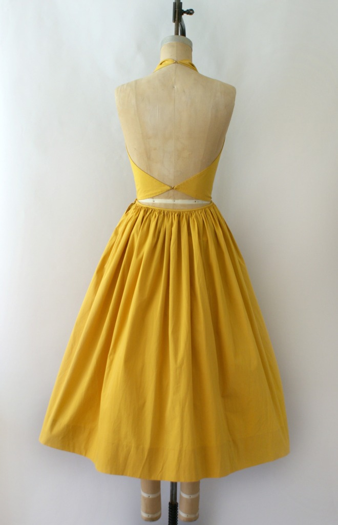 Claire McCardell- a sunny colour, a fabulous style!
