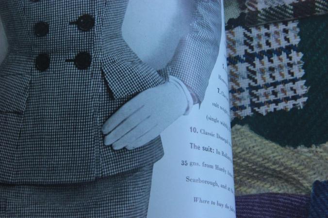 Garment featured in a 1950s Vogue/ Harper's Bazaar magazine...