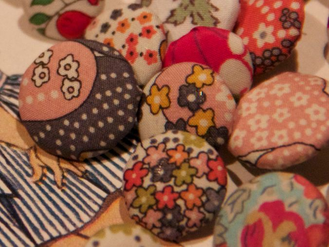 Many of these are made from Liberty mauvey- a favourite Liberty lawn pattern of mine